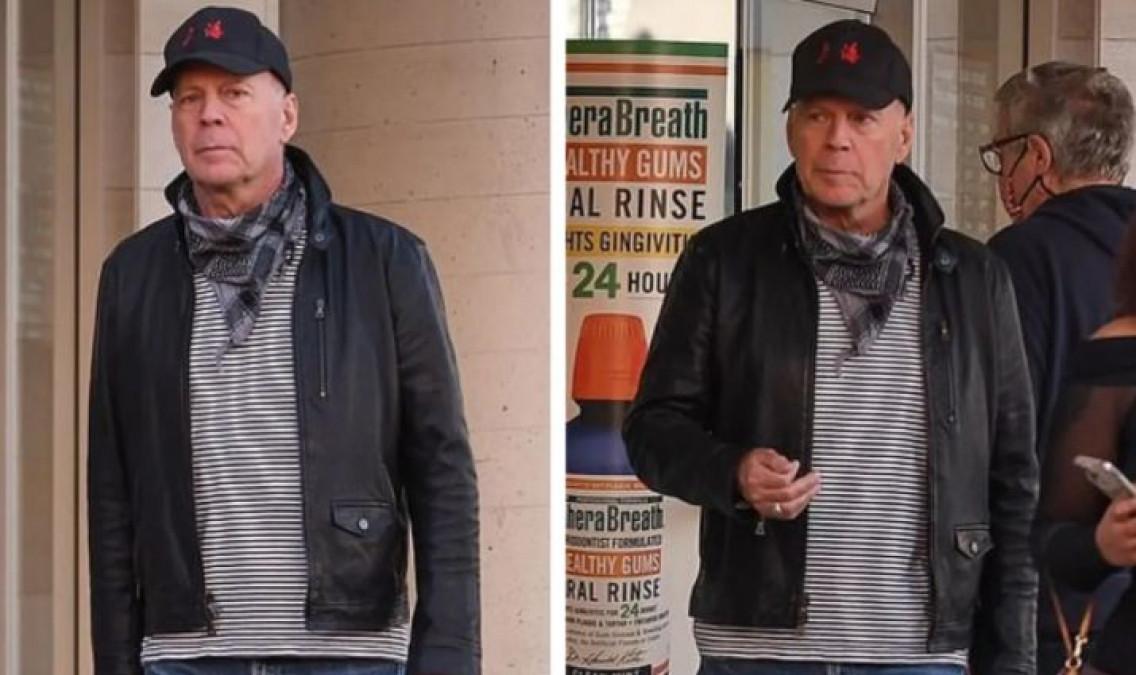 Bruce Willis, dat afară din farmacie pentru că n-a vrut să poarte masca de protecție!