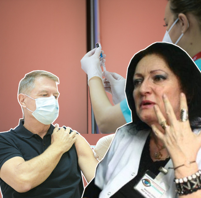 Ipoteză ŞOC după vaccinarea lui Klaus Iohannis. Dr. Monica Pop lansează un scenariu halucinant