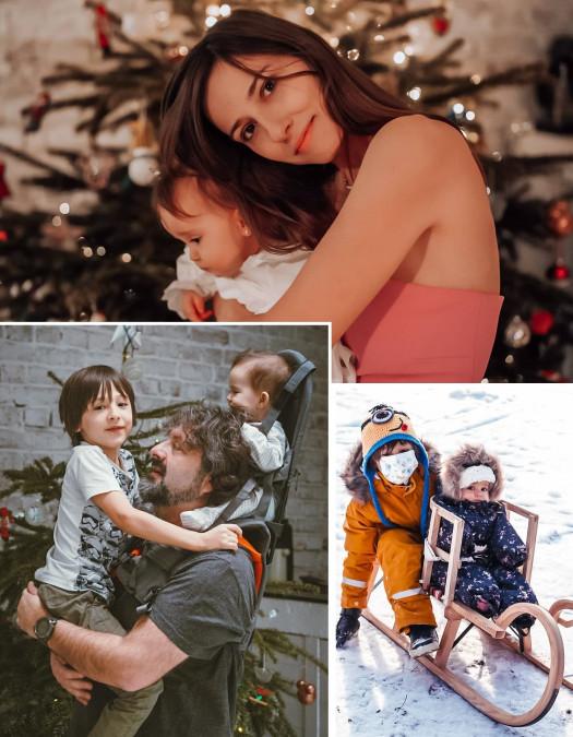 Dana Rogoz îşi ia fetiţa şi pleacă în străinătate. Fiul ei rămâne cu soţul