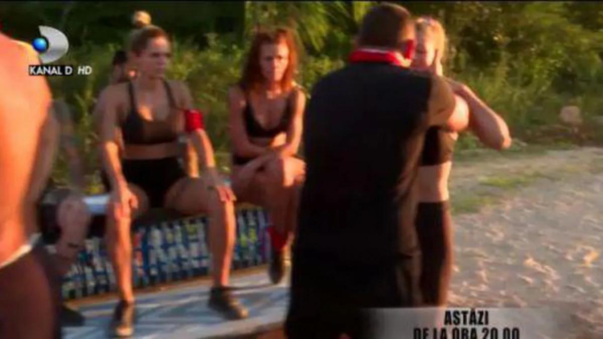 Scandal uriaş la Survivor. Moroşanu, la un pas de bătaie cu Alexandra Stan şi Roxana Nemeş