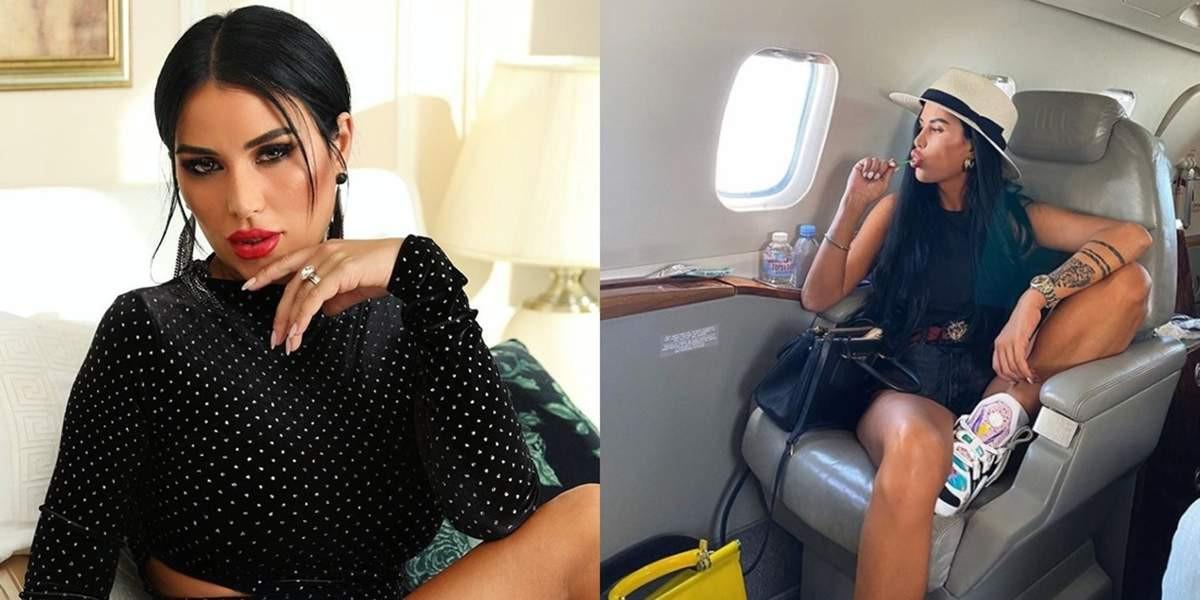 Daniela Crudu, imagini pentru adulţi în avionul privat al noului iubit