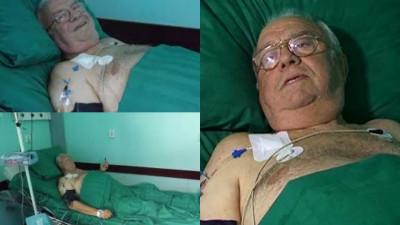 Alexandru Arșinel și soția lui, internați de urgență la spital cu COVID la două luni după RAPEL!